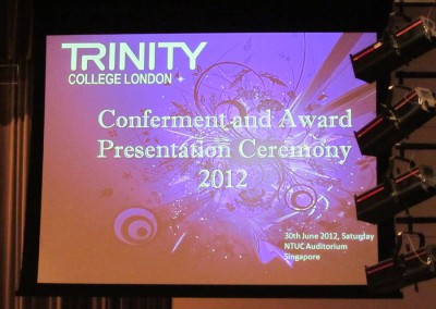 J Carter Centre @ Trinity Award 2012