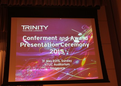 J Carter Centre @ Trinity Award 2015