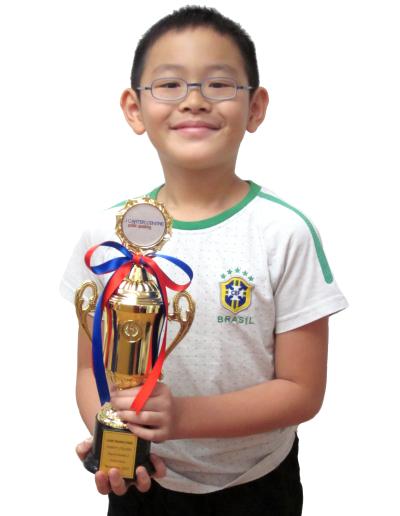 Luke Wang Enze - Grade 2
