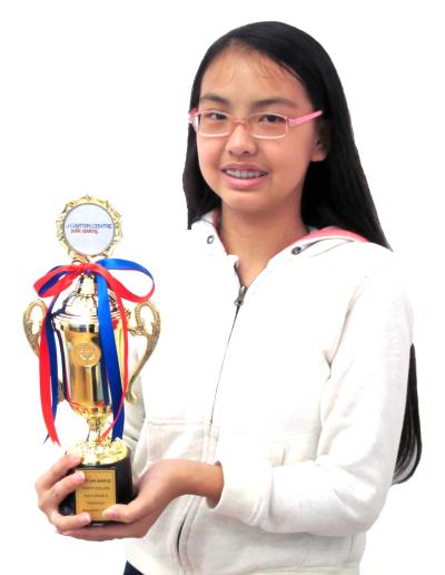 Joye Lim Qian Qi - Grade 6
