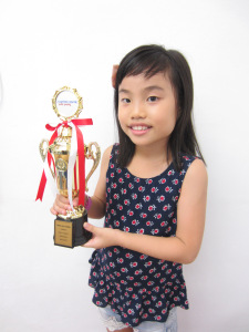 Ariel lau Zhiern - Grade 1 May 2017