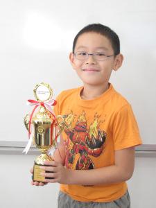 Luke Wang Enze - Grade 3 May 2017