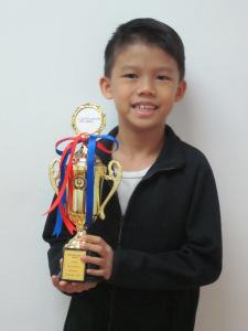 Tan Jing Quan Jaizer - Grade 1 Nov 2017