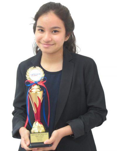 Sarrah Rose Binte Mikhail Leung - Grade 6
