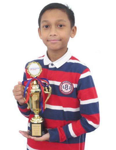 Muhammad Putera Abdullah Rosebi - Grade 2
