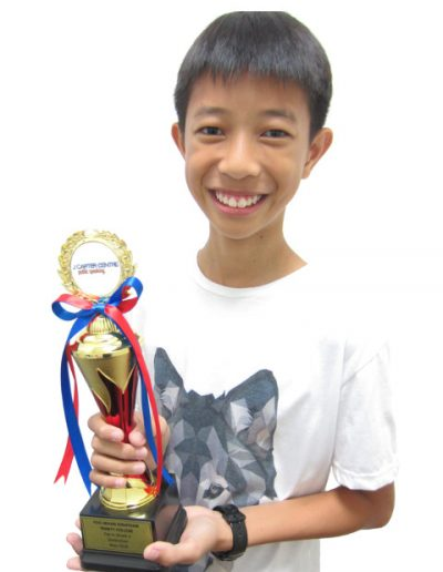 Foo Jiehan Jonathan - Grade 4