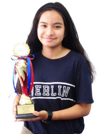 Sarrah Rose Binte Mikhail Leung - Grade 7