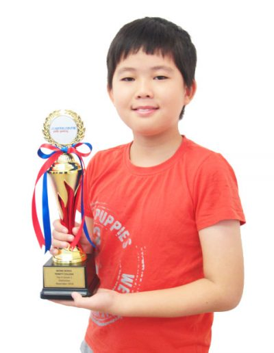 Wong Bohui - Grade 1